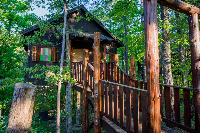 Santa Fe Sunset Treehouse