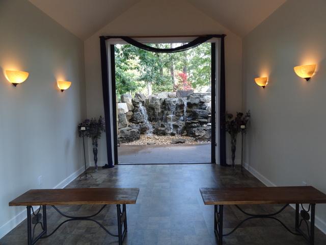 waterfall chapel